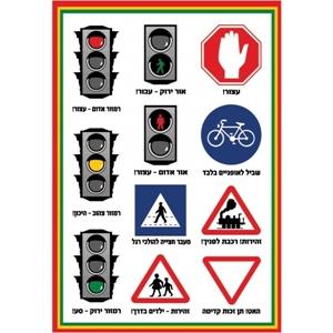 תמונה עבור הקטגוריה זהירות בדרכים