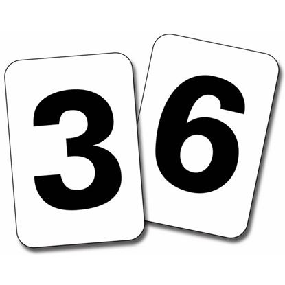 תמונה של קלפים - מספרים 0-20
