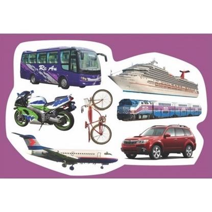 Picture of גזירות קרטון כלי תחבורה