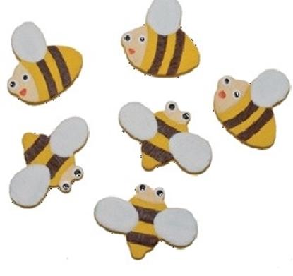 תמונה של דבורים מלבד דביק