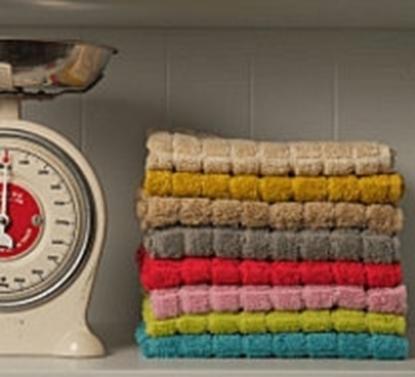 תמונה של מגבת מטבח צבעוני