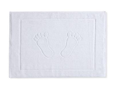 Picture of שטיחון כפות רגליים - לבן