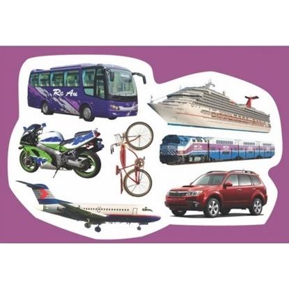 תמונה של גזירות קרטון כלי תחבורה