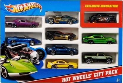 תמונה של הוט ווילס מארז 10 מכוניות